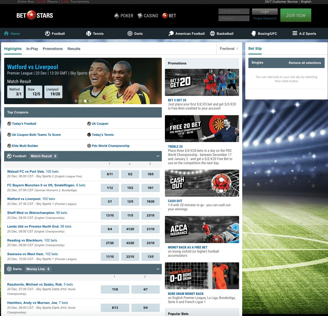 BetStars screenshot 1