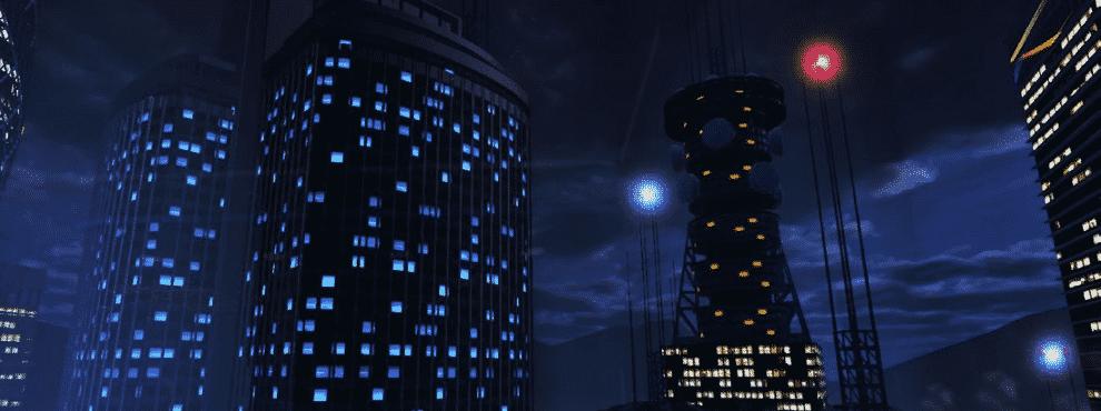 VR city view