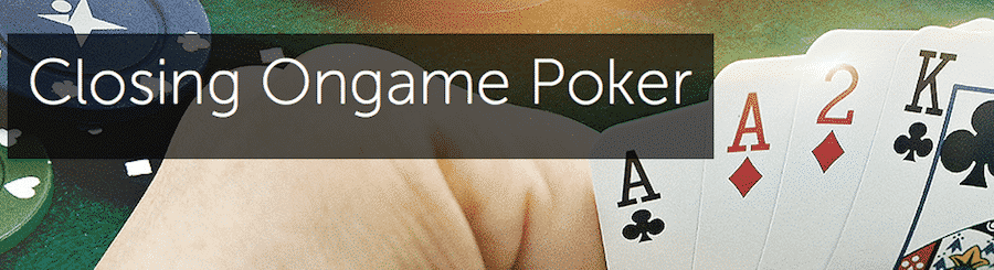 betsson closing ongame poker