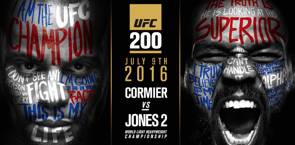 UFC 200 betting