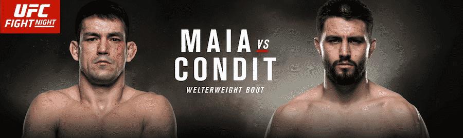 maia vs condit odds