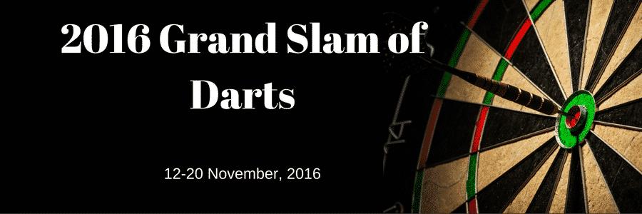 grand slam of dart
