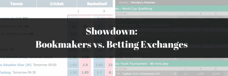Showdown: Online Bookmakers vs. Betting Exchanges