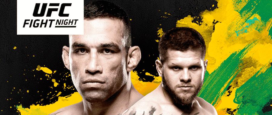 UFC Fight Night 121 betting odds